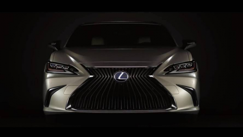 The 2019 Lexus ES previewed ahead Beijing Auto Show