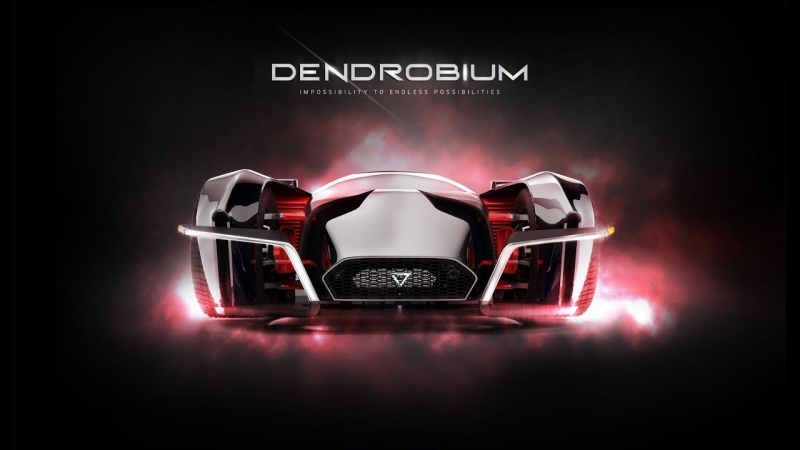 Meet the Dendrobium — an orchid-inspired electric hypercar!