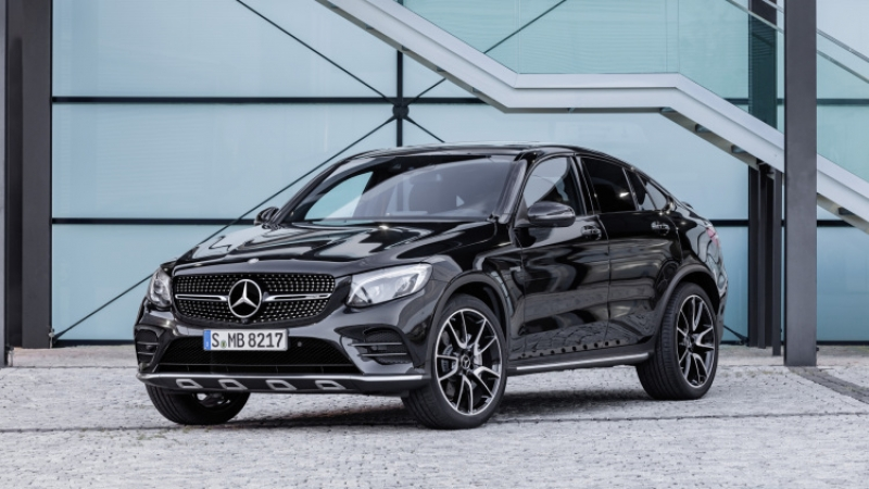 2017 Mercedes-AMG GLC43 Coupe revealed ahead of Paris debut!