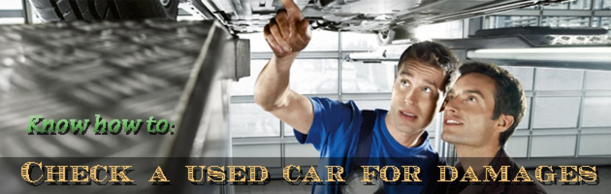 Used Car Buying Tips:  How To Check If A Car Has Been In An Accident?