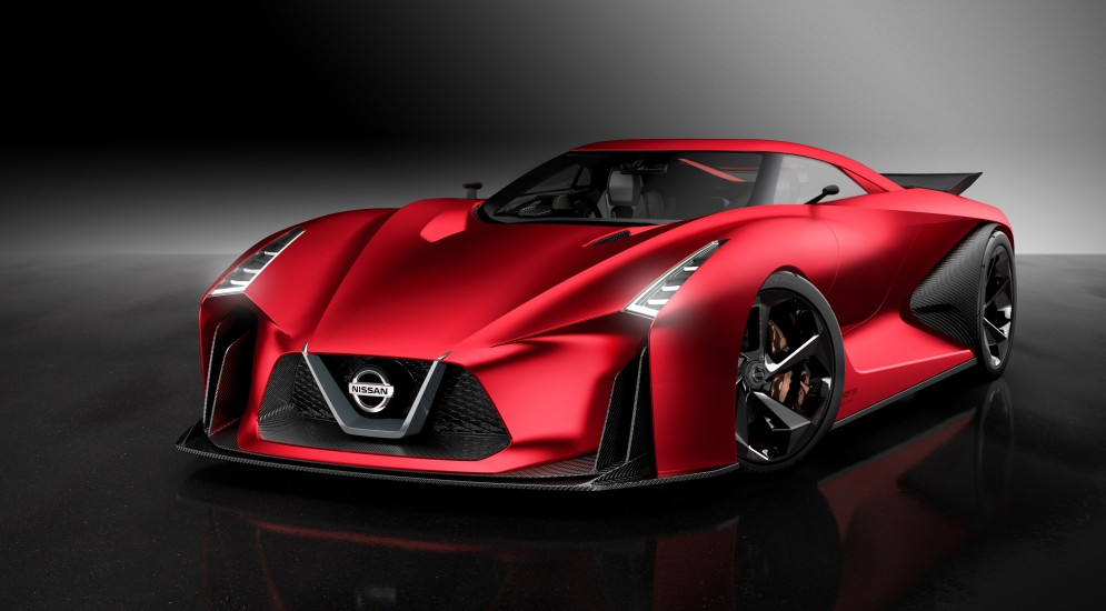 Nissan embodied virtual forerunner of the new GT-R in the metal supercar