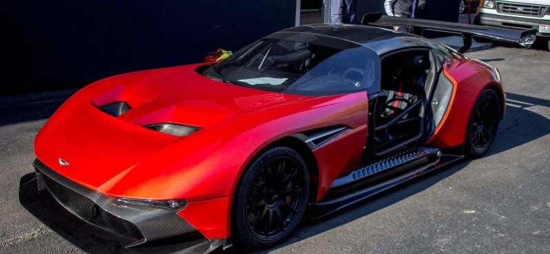 The first Aston Martin Vulcan arrived in USA and costs $2.3 million