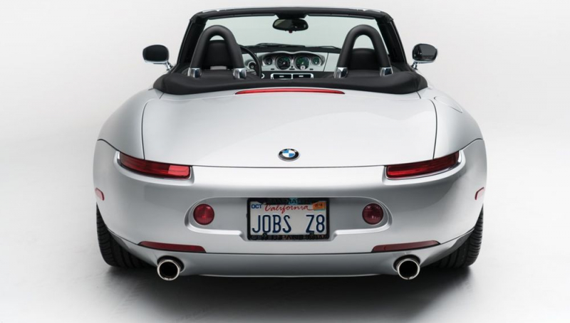 The BMW Z8 which belonged to Steve Jobs is up for sale