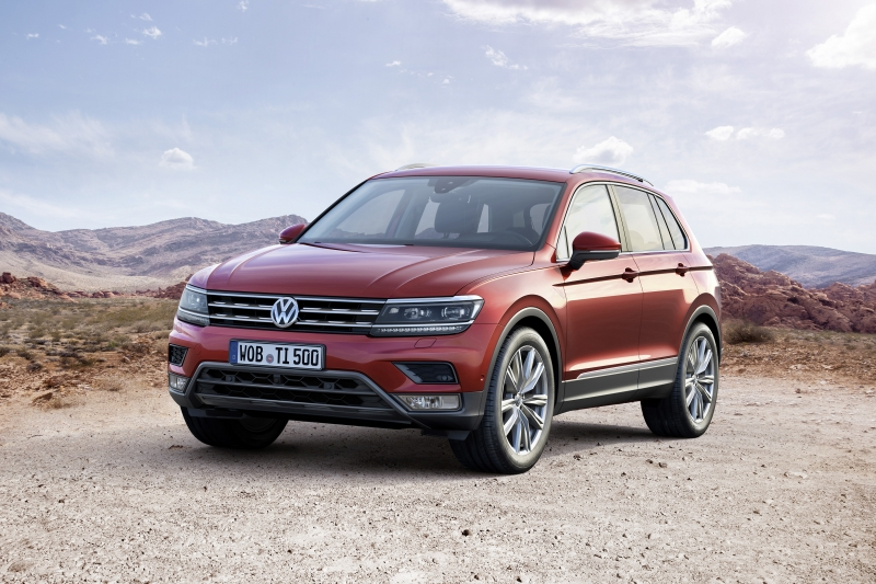 The 2016 VW Tiguan is the car of the year?