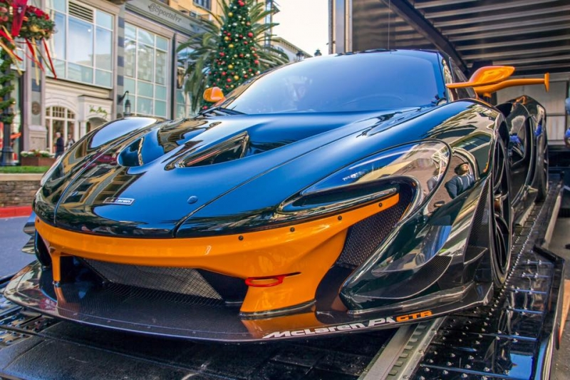 One of the 35 McLaren P1 GTR has been delivered to USA