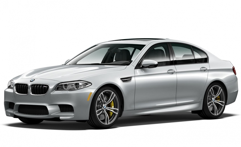 2016 BMW M5 Pure Metal Silver Edition limited to just 50 units!