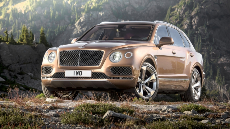 Bentley Bentayga on its way!