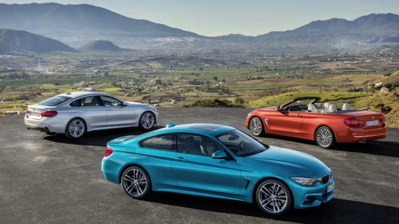 Four means more. Meet the updated BMW 4 Series.