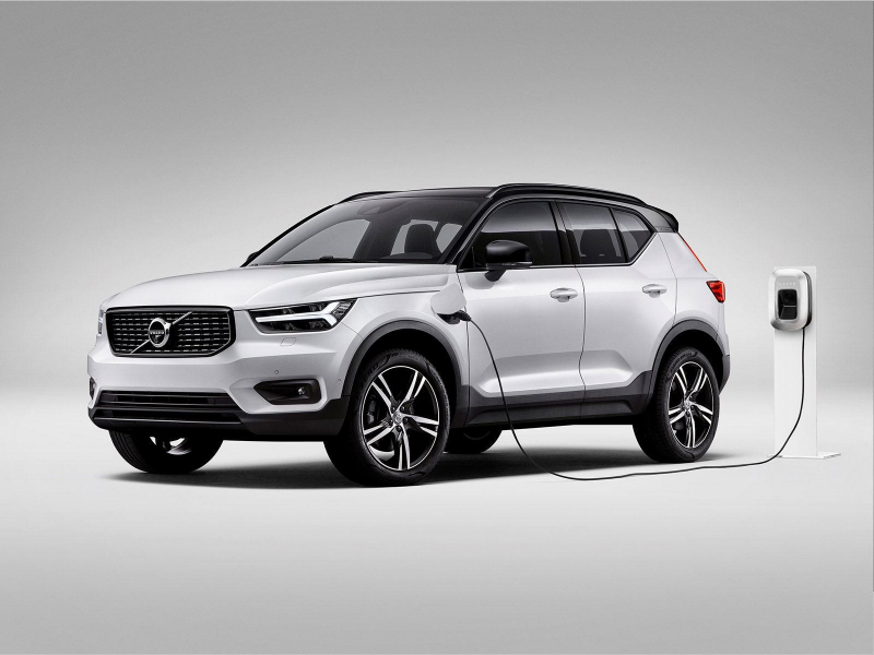 The XC40 Will Become The First Fully Electric Volvo