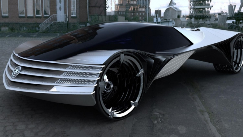 Cadillac's First Thorium Car Design