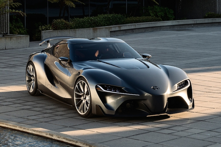 A surprising new Toyota Supra concept will be unveiled next year