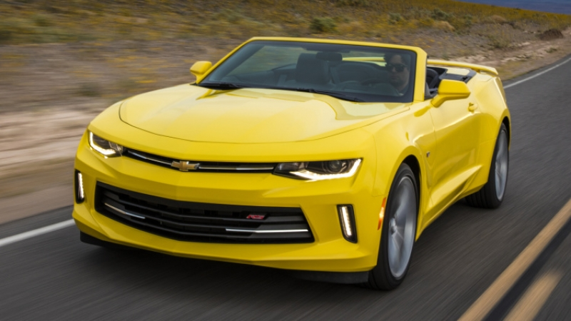 Chevy Camaro is back with a four-cylinder engine, after 30 years!