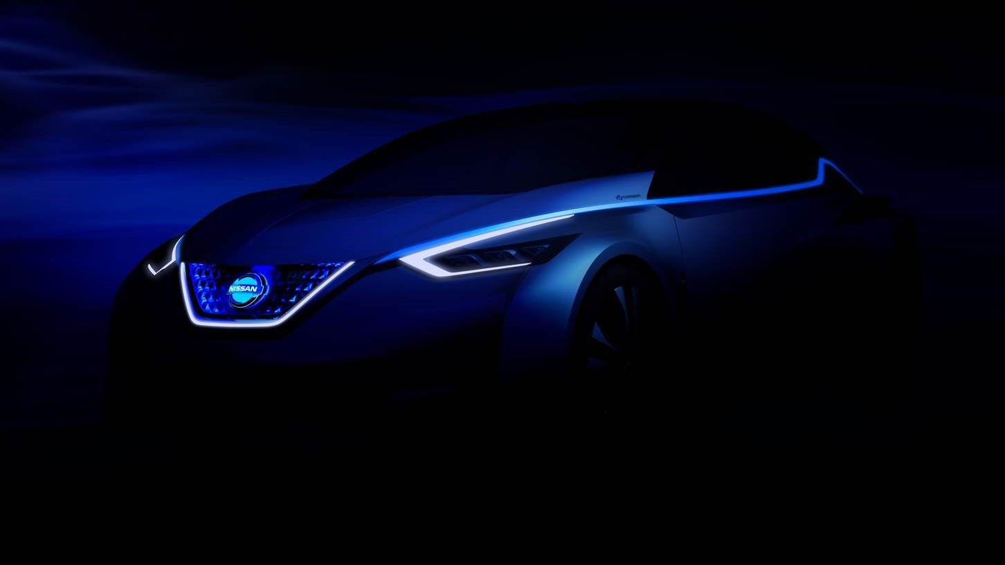 The first image of a new concept from Nissan