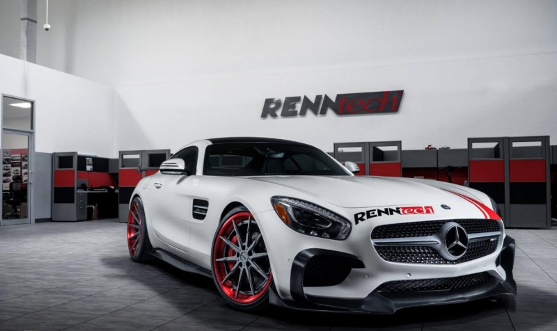 A Mercedes-AMG GT S tuned by Renntech is a noteworthy thing
