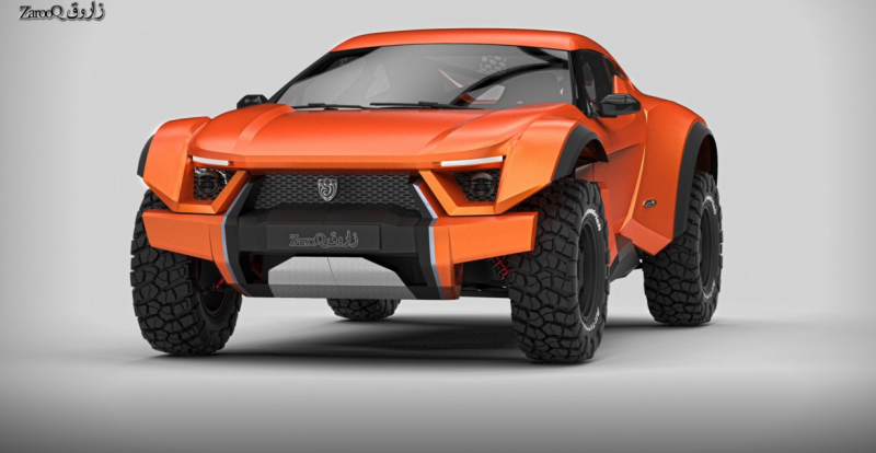 The road legal Zarooq SandRacer was officially unveiled is a ready for production