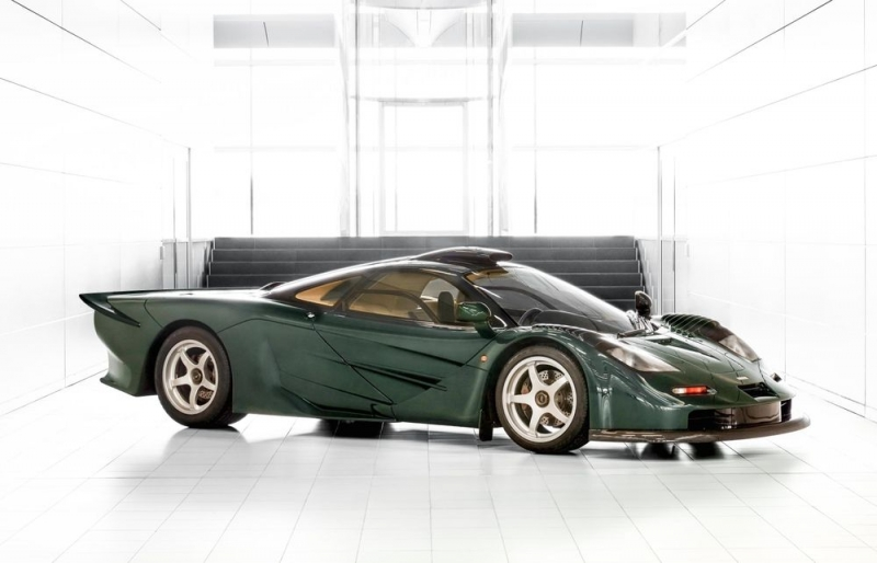 Green Painted Limited Edition McLaren 570GT