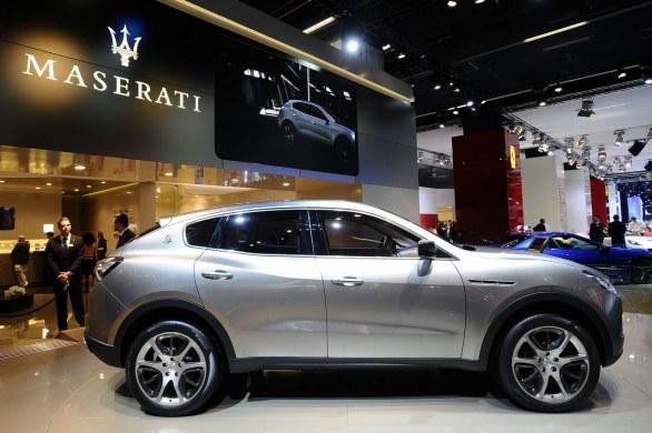 First Maserati SUV debut