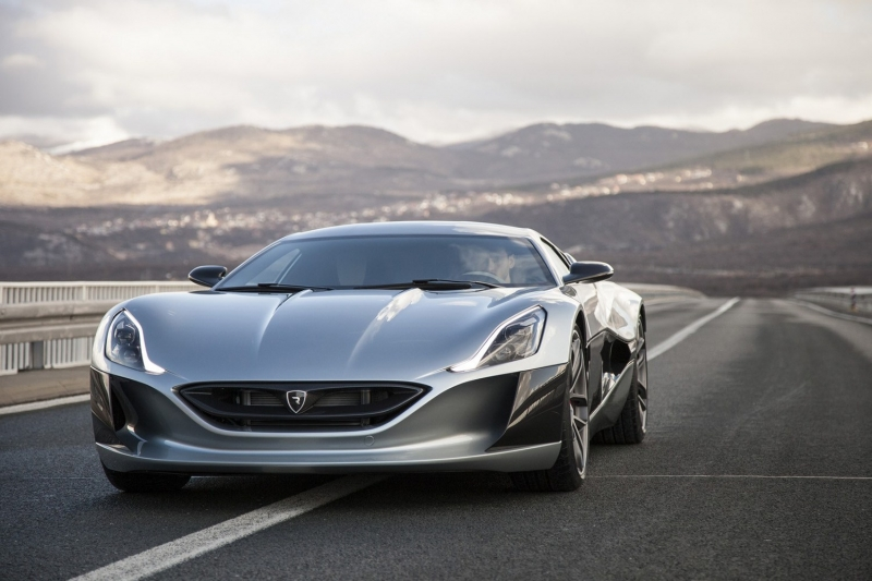 1073HP Rimac Concept_One Electric Supercar Will Debut At Geneva
