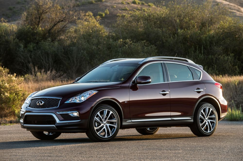 The Japanese style of the 2016 Infiniti QX50