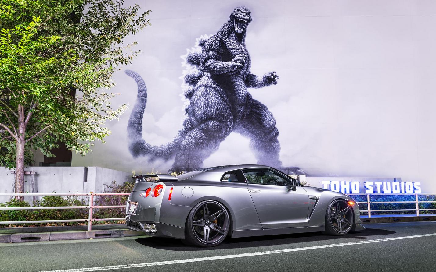 The performance car Nissan Skyline GT-R nicknamed