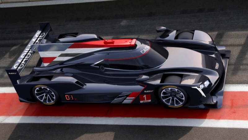 Cadillac is back on board with a new racecar