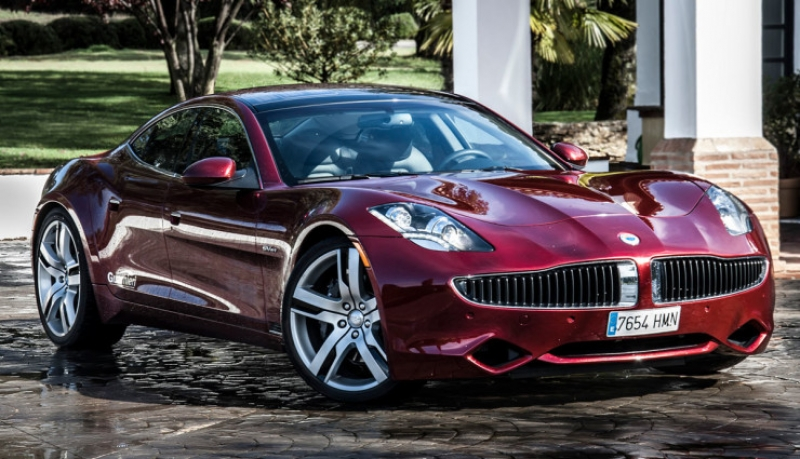 A relaunched Plug-in Hybrid sedan from Karma Automotive with BMW's electric drive