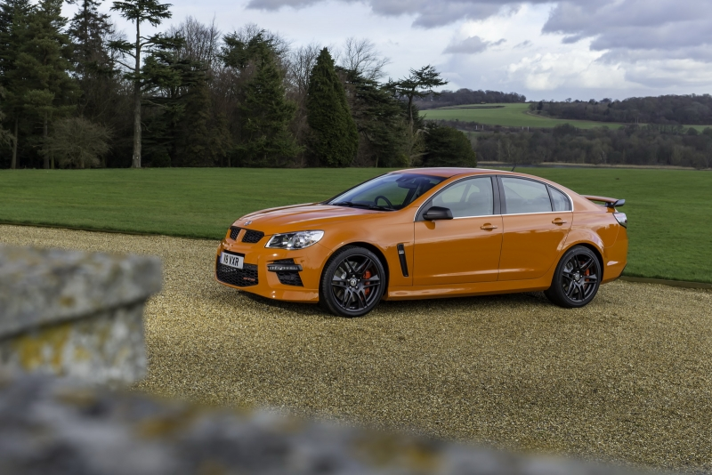 You'll be missing this one: the last Vauxhall VXR8 ever announced