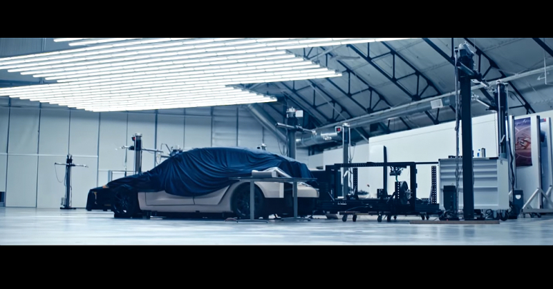 Tesla's New Promo Shows a Mystery Car
