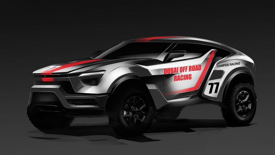 Zarooq Sand Racer - a new SUV for millionaires
