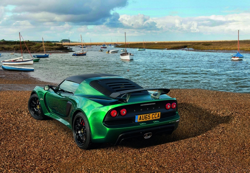 Meet the fastest of the latest Lotus creations - Exige Sport 350