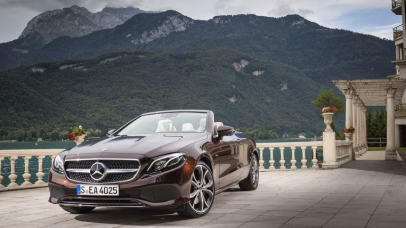 The 2018 Mercedes-Benz E-400 Cabriolet is flawless!