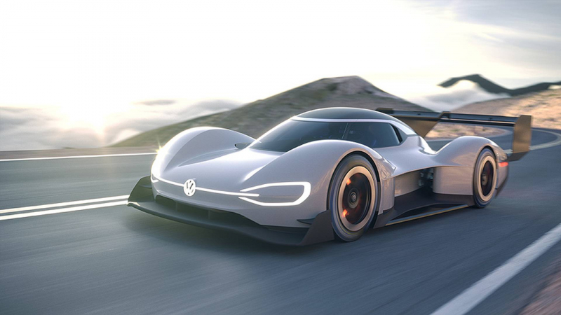 VW's Pike's Peak Vehicle Gets Unveiled