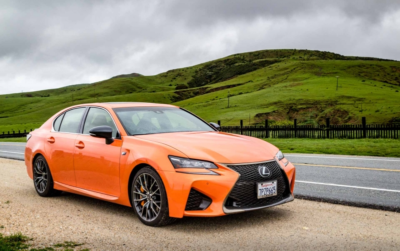 Luxury and performance in the brand new 2016 Lexus GS F