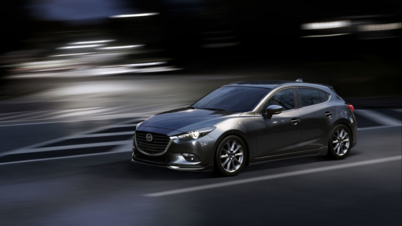 The updated Mazda 3 aims to hit the US roads this year!