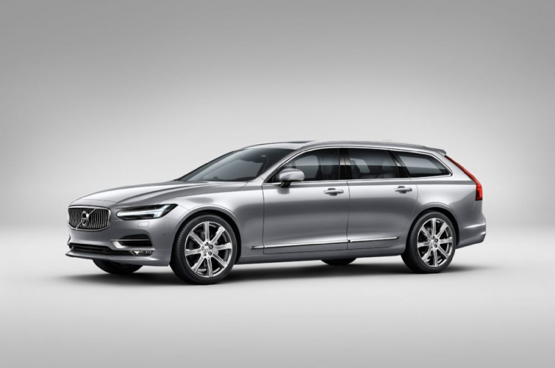 A new modern luxury wagon from Volvo - the 2017 Volvo V90