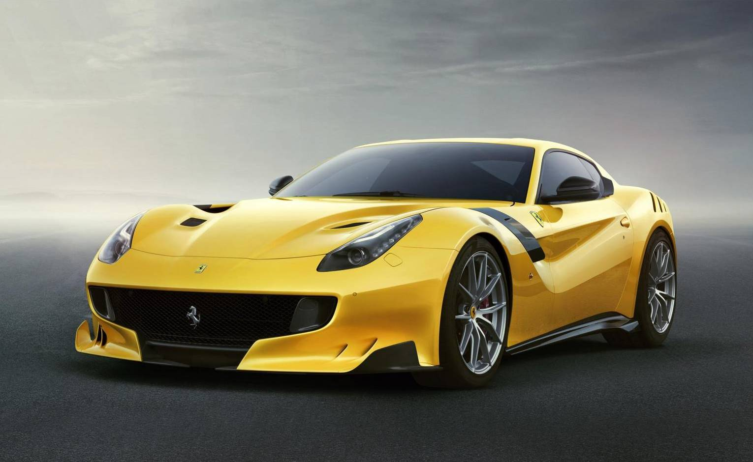 A public debut for the head-turning Ferrari F12tdf