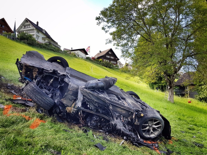Richard Hammond surviving terrible Rimac Concept One crash