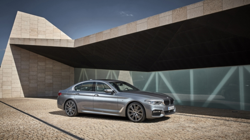 The all-new 2017 BMW 5 Series sedan revealed