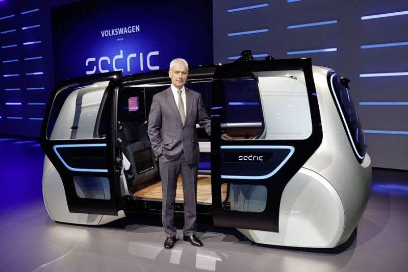 VW shows its newest concept for the future of autonomous driving