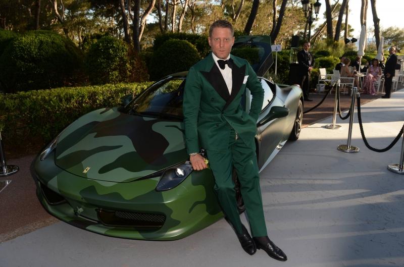 $1.1 million dollars for a Ferrari 458 Italia at a charity auction