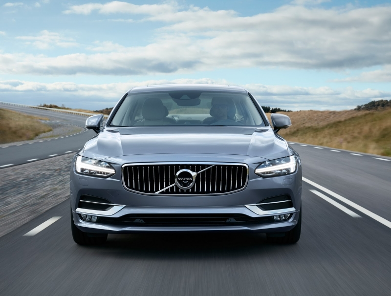 The all-new Volvo S90 sedan – a new symbol of automotive freedom!