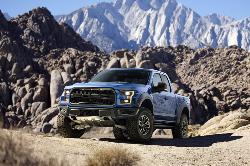 New 2017 Ford F-150 Raptor coming with 450 hp and 510 lb-ft of torque!