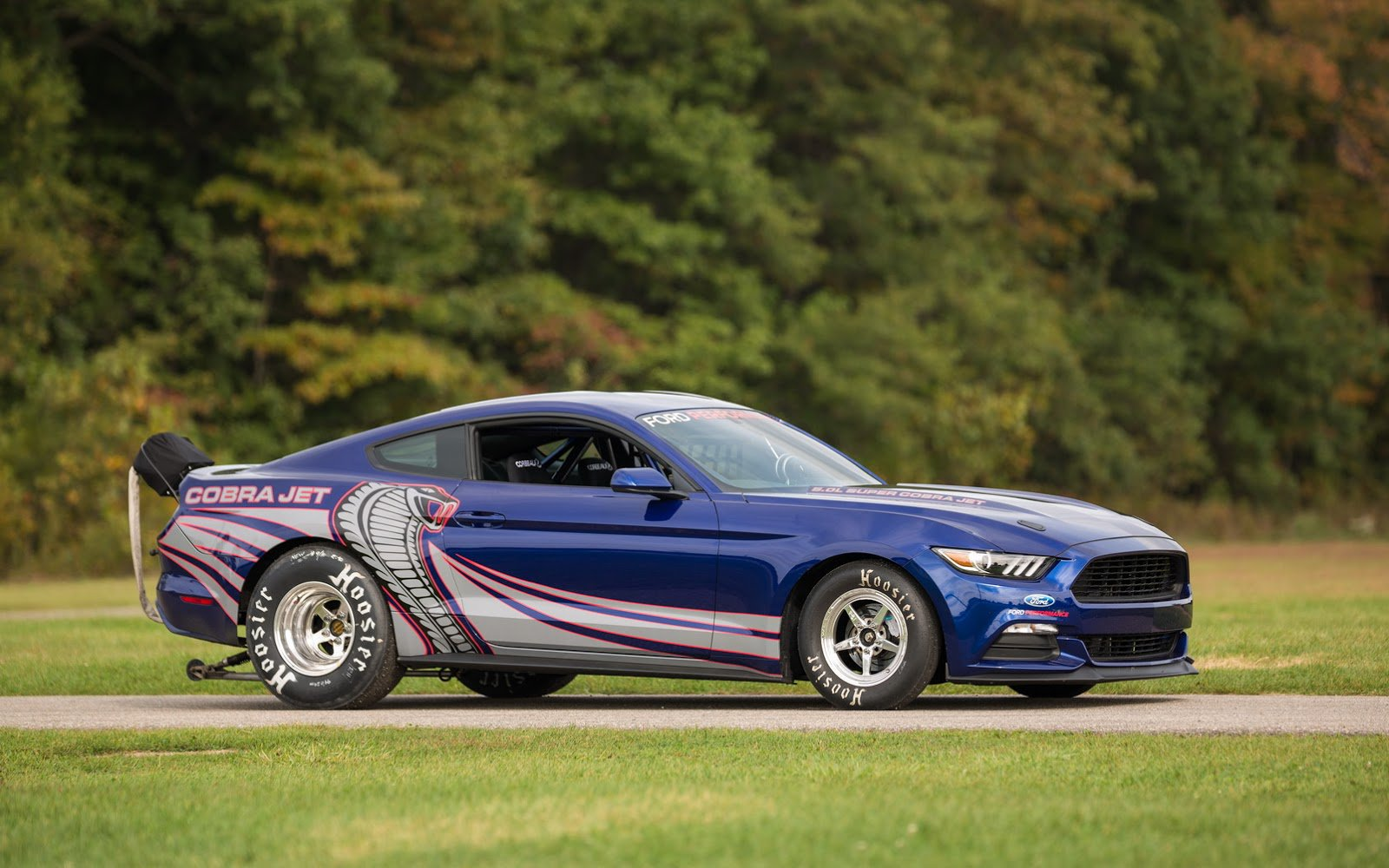 The new limited Mustang Cobra Jet was revealed by Ford