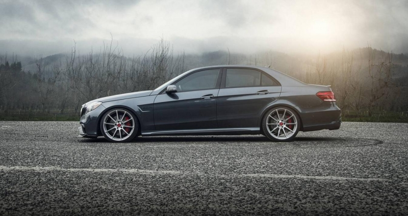 Vorsteiner designed a new aero program for the Mercedes-Benz E63 AMG