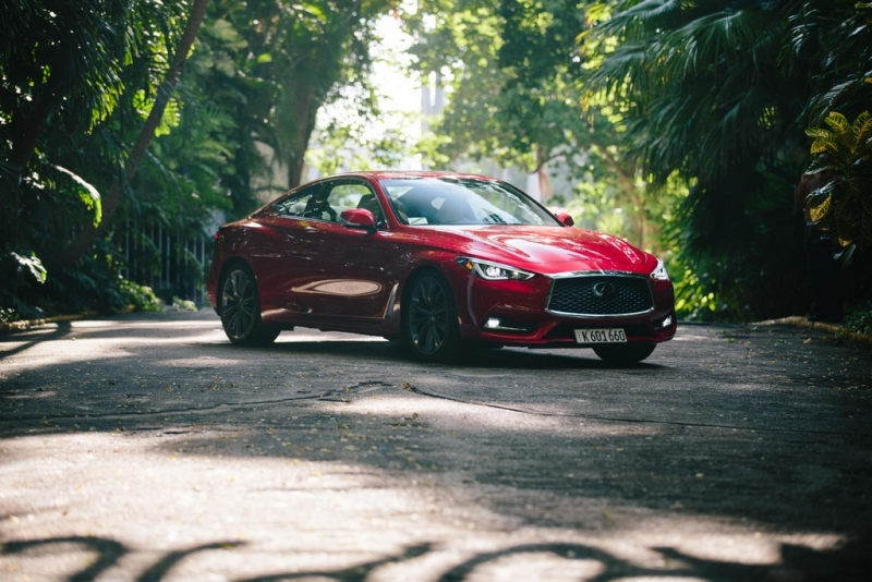 Infiniti Q60- the first US car registered in Cuba in the last 58 years