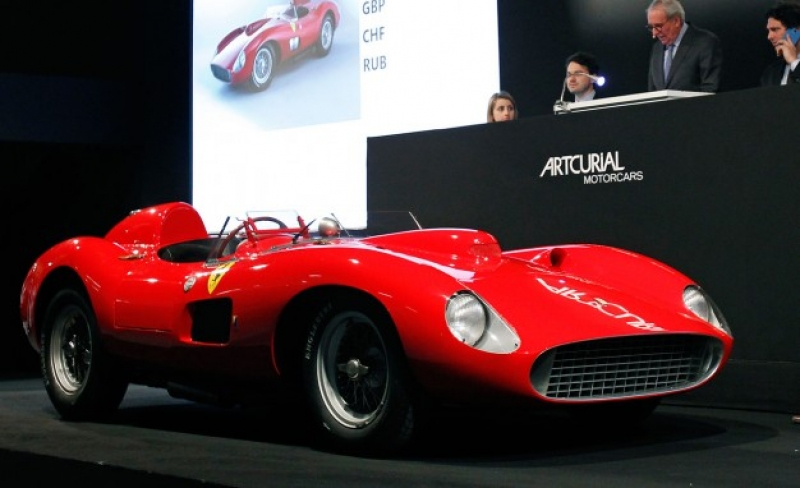 The 1957 Ferrari 335S Spider - the second-most expensive car ever auctioned