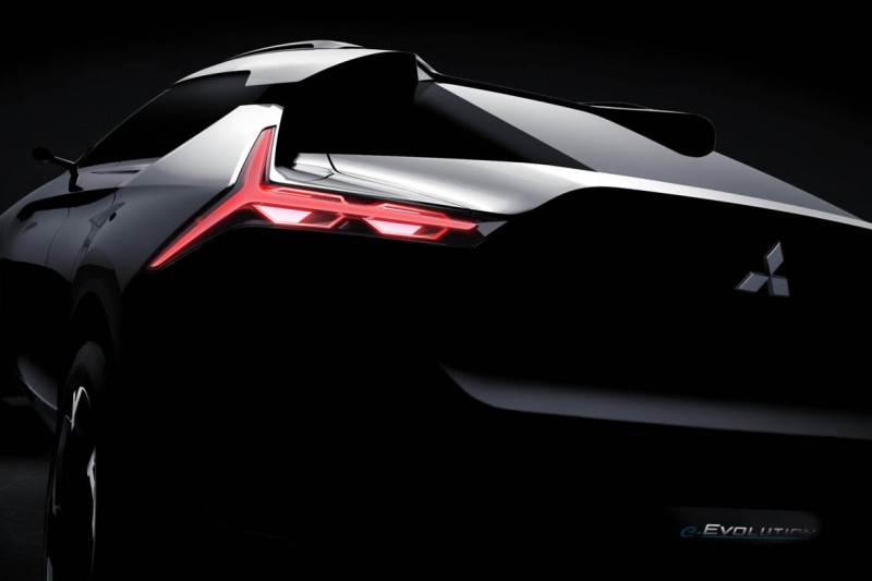 Mitsubishi Evo Concept: The battery-powered SUV-coupe
