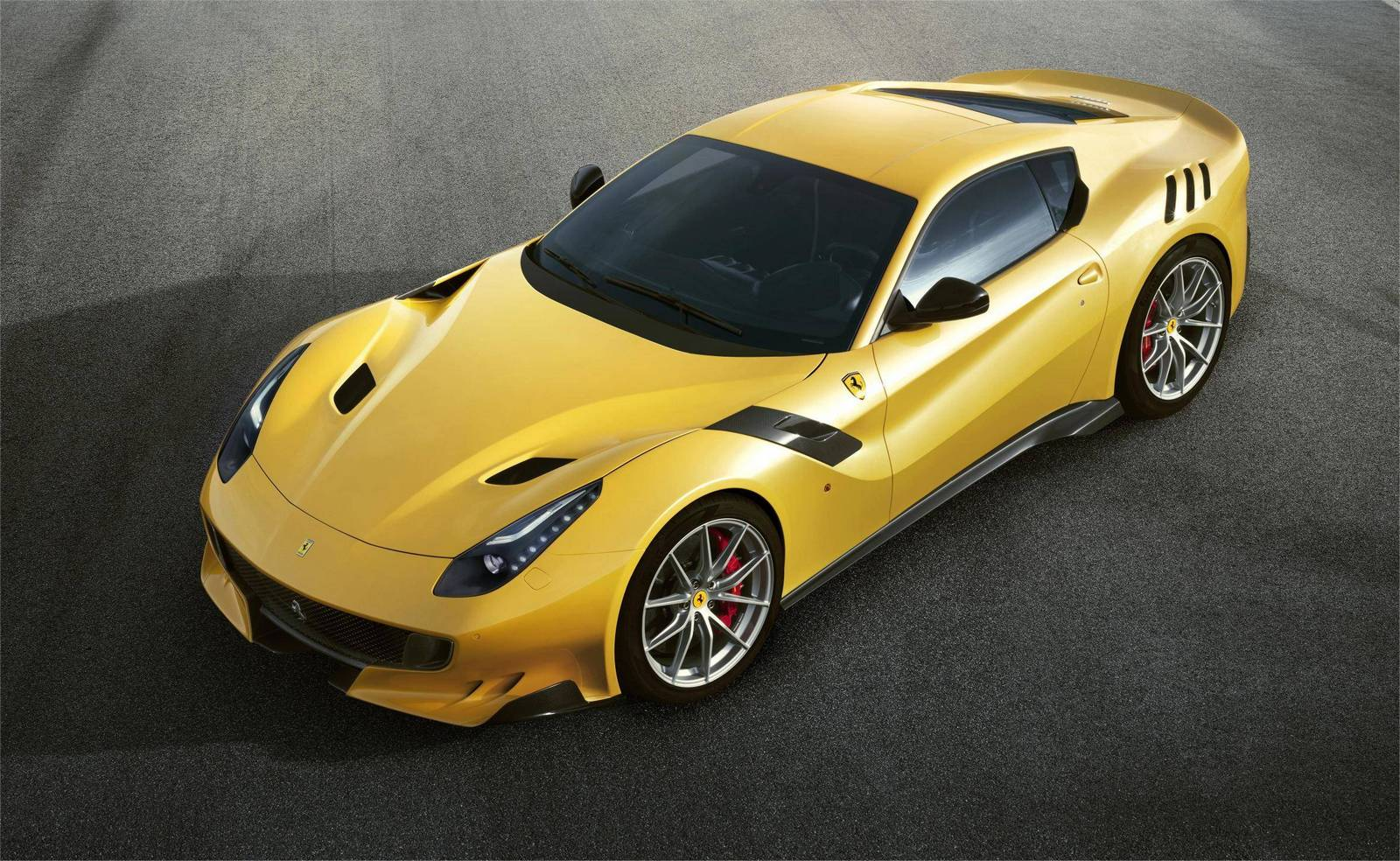 The official presentation of the 2016 Ferrari F12tdf