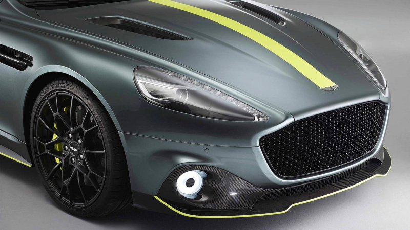 Aston Martin Rapide AMR Gets Carbon Fiber Body And Packs 580 HP