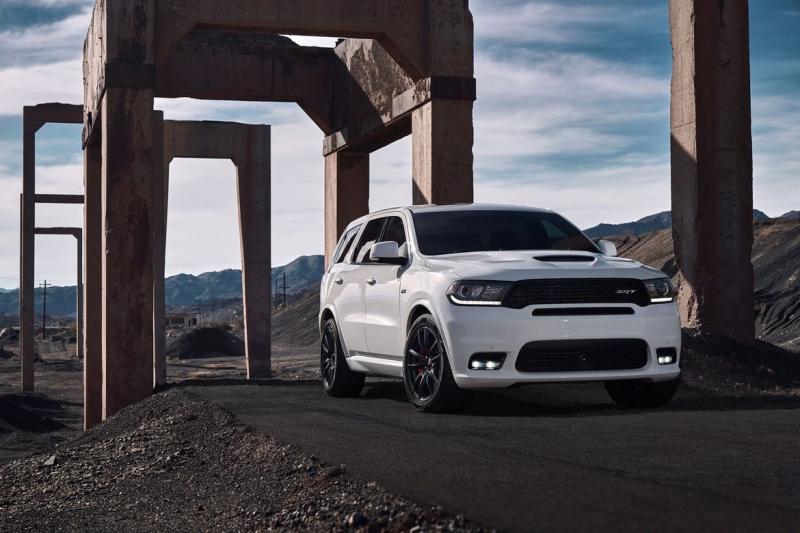 Dodge will add more power and attitude to its 2018 Durango SRT